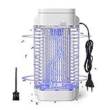 Ulixii Elektrischer Insektenvernichter Mosquito Killer 18W effektive Insektenfalle mit UV-Lampe, Mückenlampe Keine Giftigen Chemikalien für Innen Schlafzimmer und Aussen Gärten