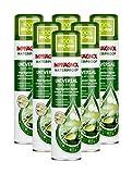 Imprägnol Waterproof Universal 100% PFC-frei: Imprägnier-Spray geeignet für Textilien, Leder und Hightechgewebe, 400 ml, 6er Pack