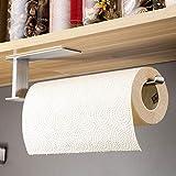 RUICER Küchenrollenhalter Edelstahl Küchenpapierhalter Ohne Bohren Küchenrollenspender für alle Küchenpapier