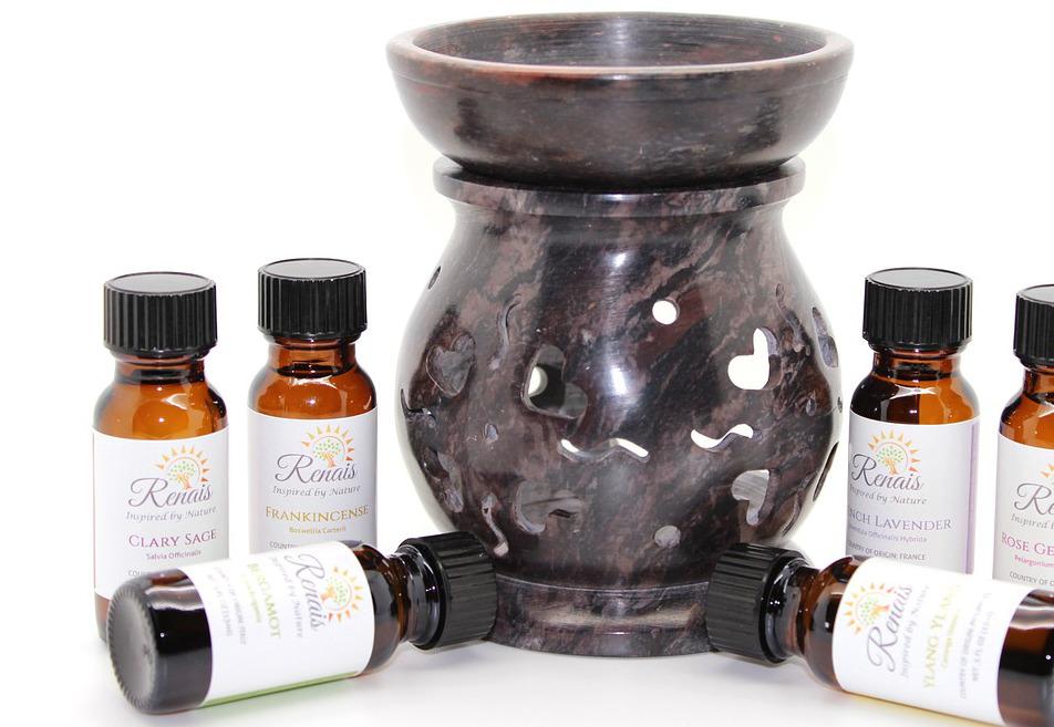Diffusor und Öl für die Luftbefeuchtung