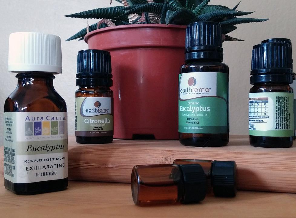 Ätherische und essentielle Öle