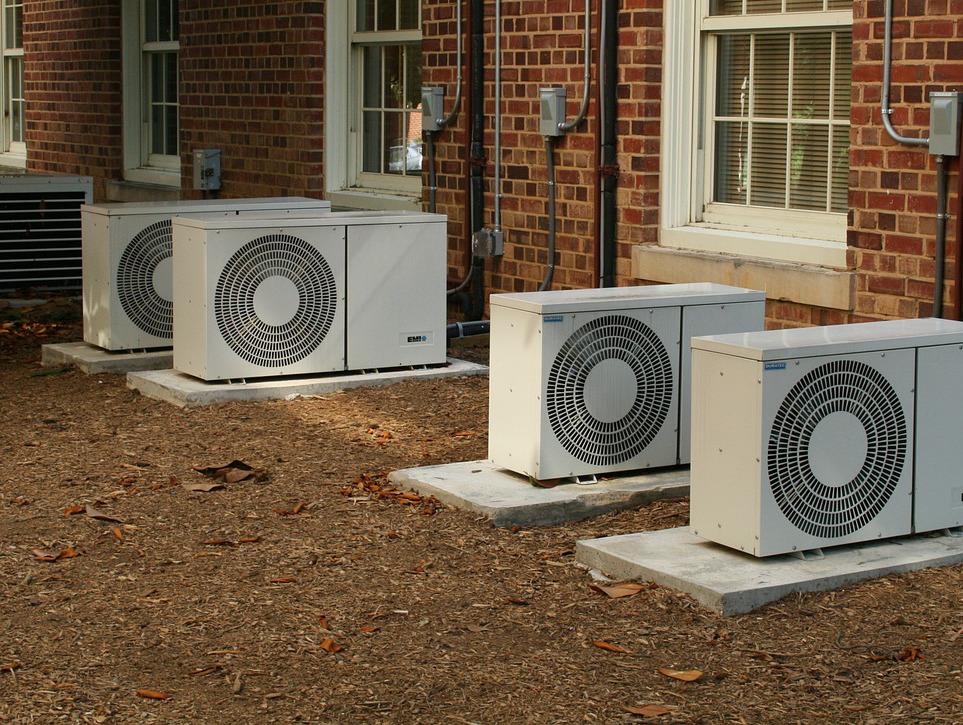 Klimaanlagen zum Abkühlen