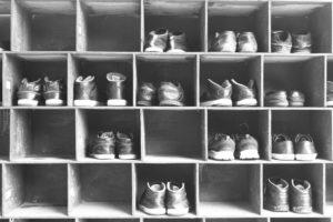 Schuhschrank richtige Pflege