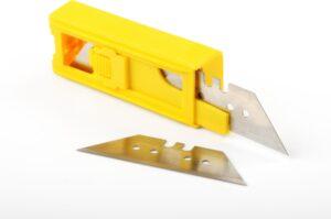 Cuttermesser werden auch gerne als Teppichmesser bezeichnet