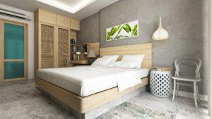 Waeschesammler im Schlafzimmer