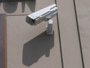 Ueberwachungskamera aussen fuer oeffentliche Bereiche