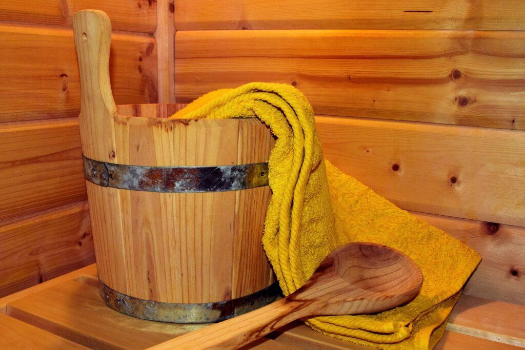 Mikrofaserhandtuch Sauna duschen