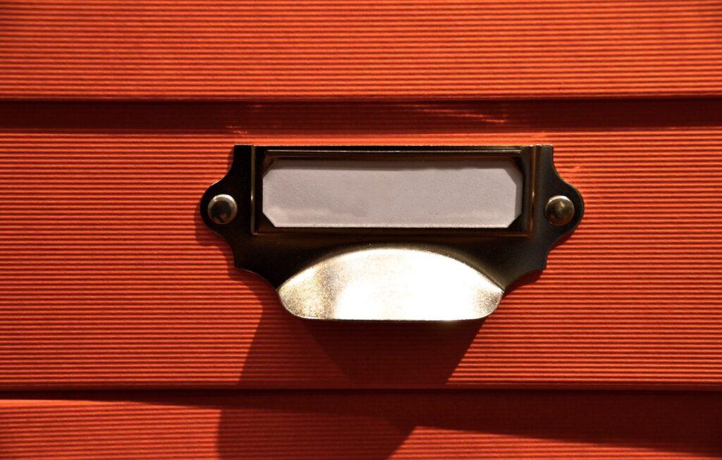 Schubladenbox in verschiedenen Ausfuehrungen