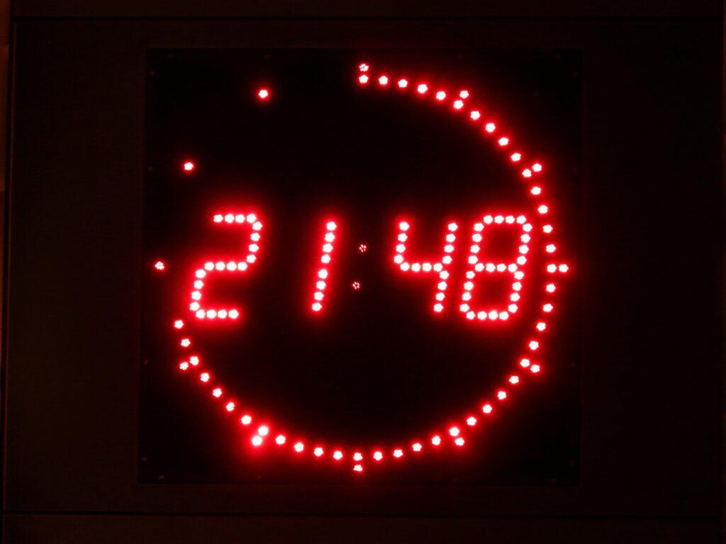 digitale Zeitschaltuhr Zeiten einstellen
