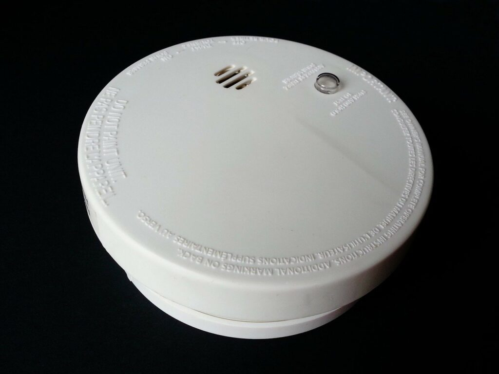 Rauchmelder fuer Sicherheit im Haus