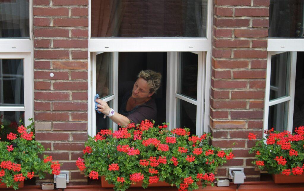Fensterputzer streifenfrei putzen