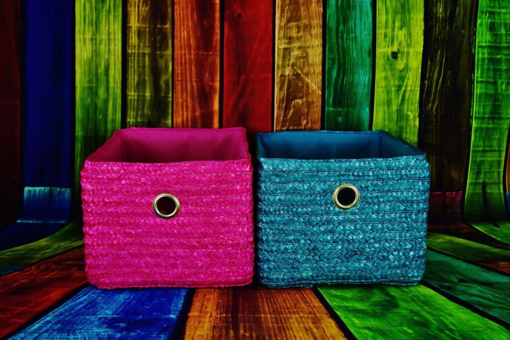 Plastikbox verschiedene Farben