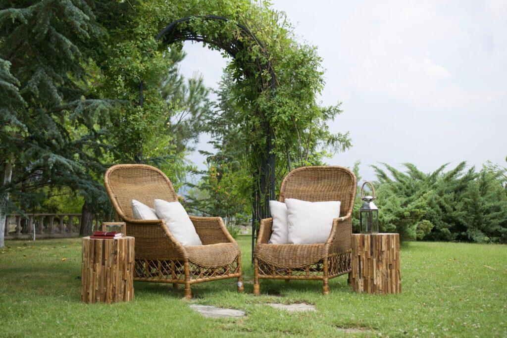 Bambusstab Garten